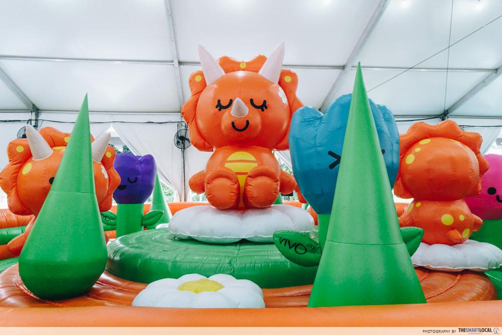 Bounce-A-Saurus Fiesta