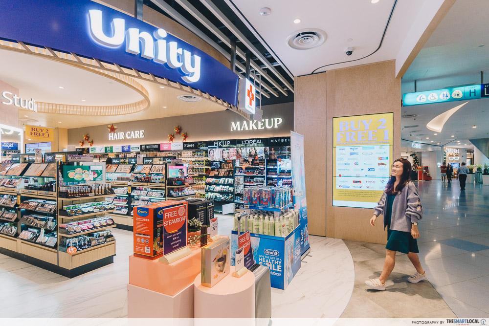 Vivocity Late Night Shopping Unity