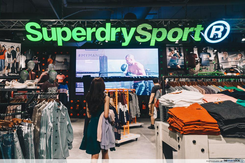 Vivocity Late Night Shopping SuperDry