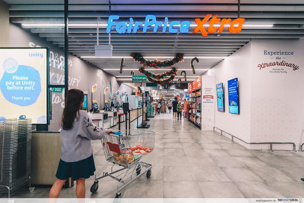 Vivocity Late Night Shopping FairPrice Xtra