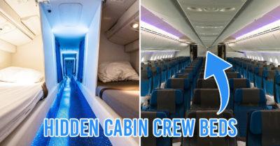 hidden crew bunks