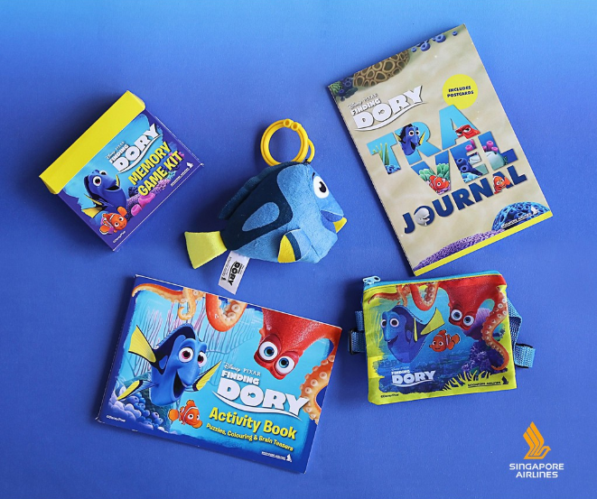 Singapore Airlines kids toys