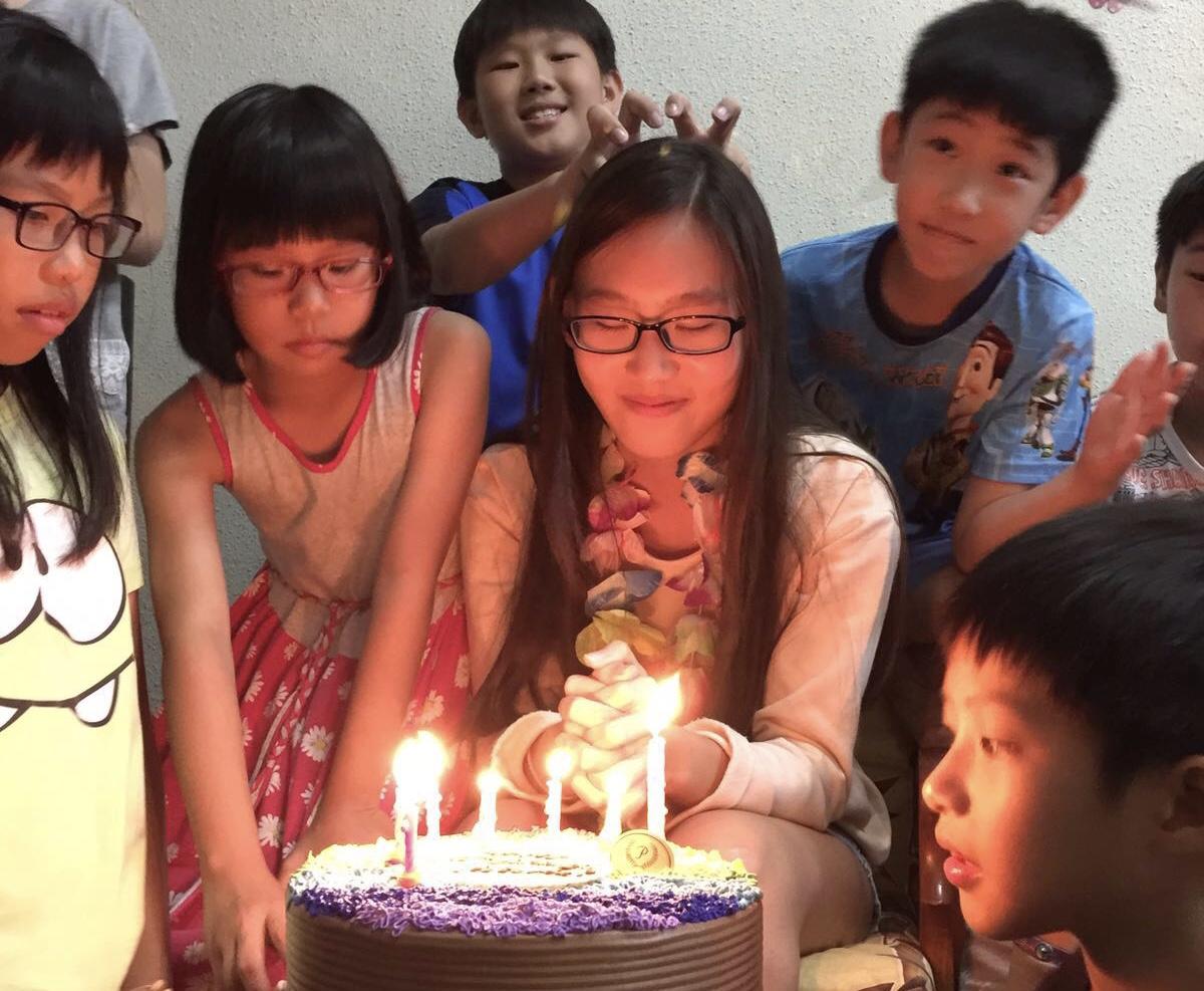 making birthday wish