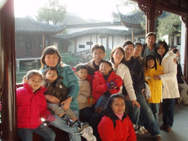 overseas trip with family