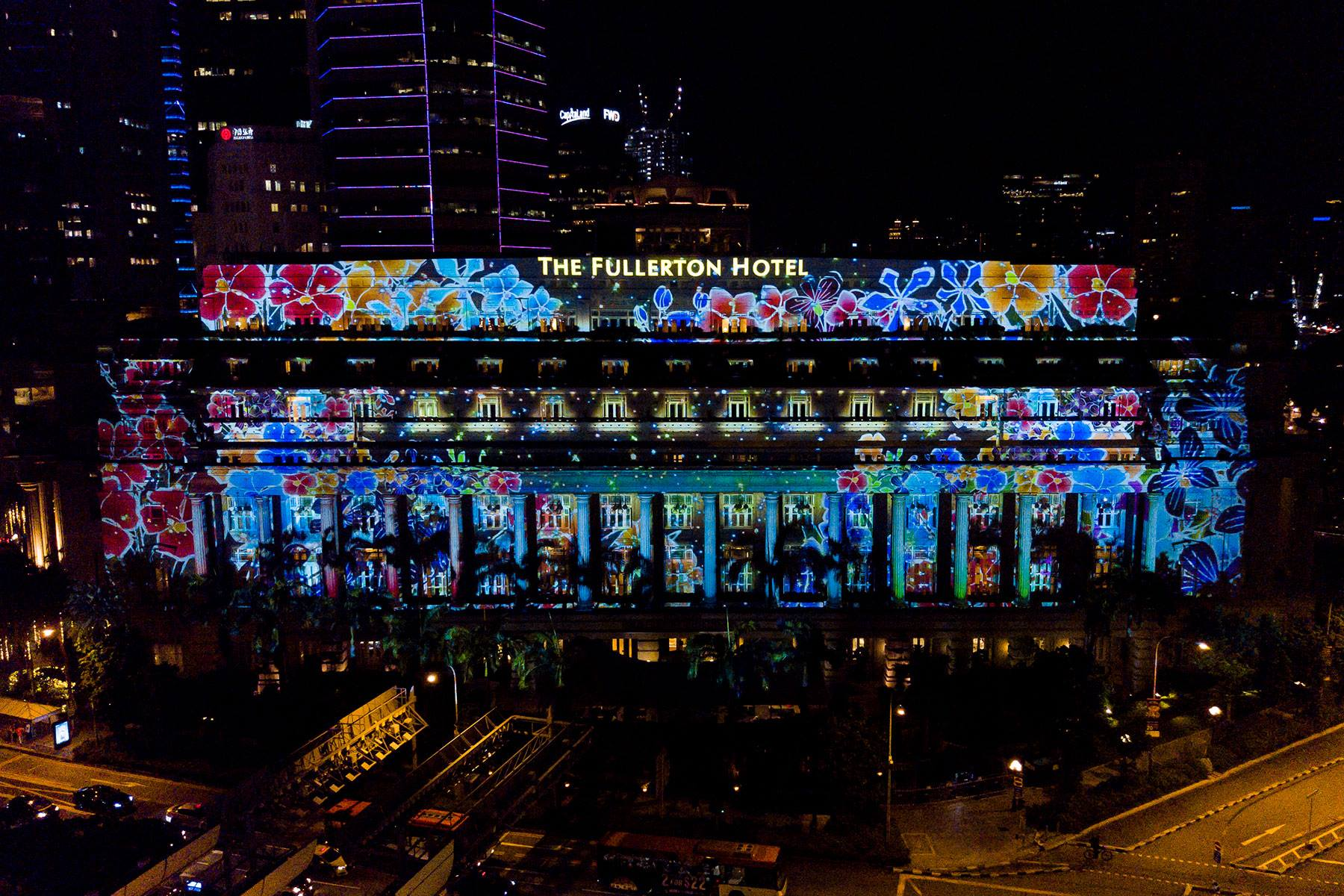 build a dream light projection show