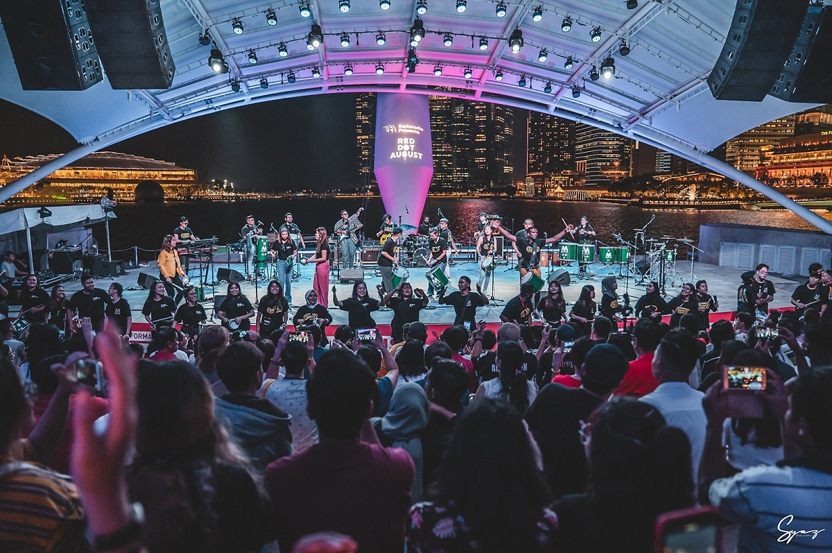 esplanade outdoor theatre concert