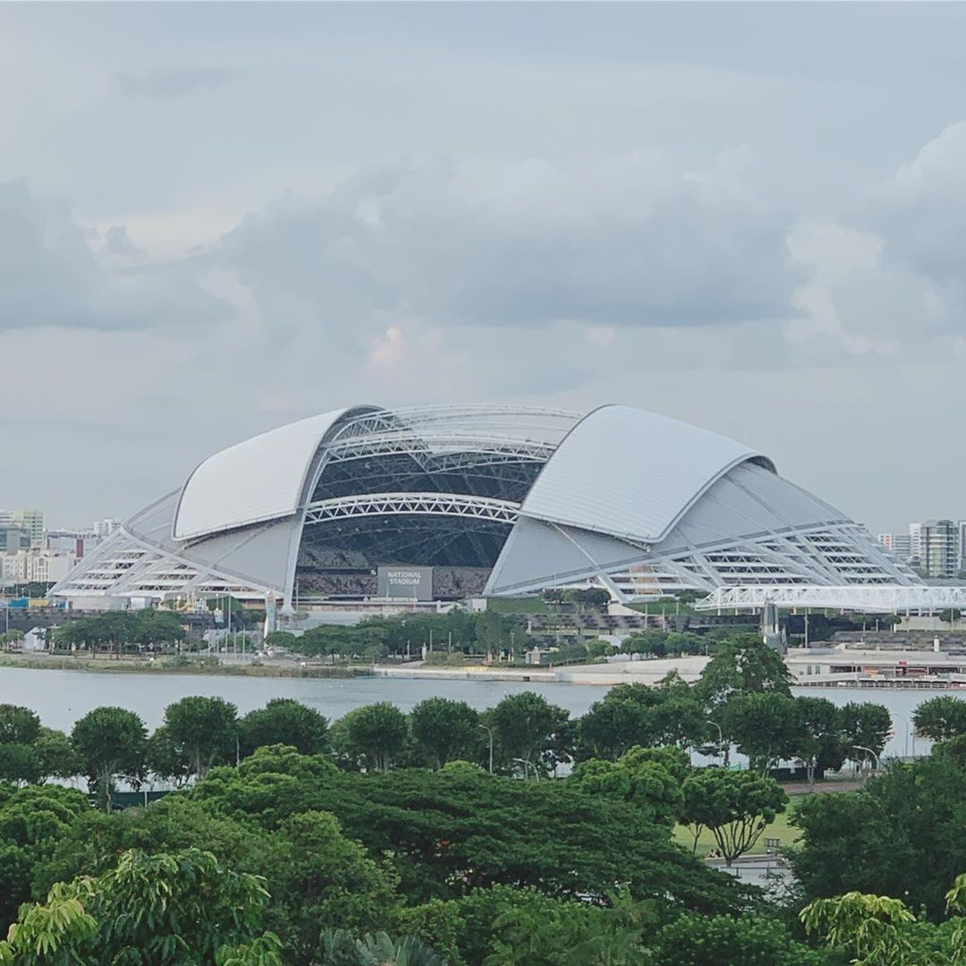 feng shui in singapore architecture - singapore sports hub