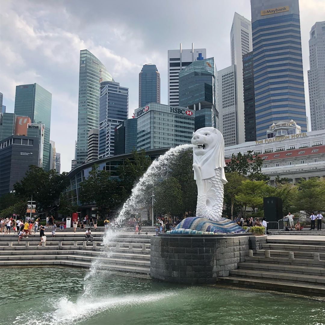 feng shui in singapore architecture - merlion park