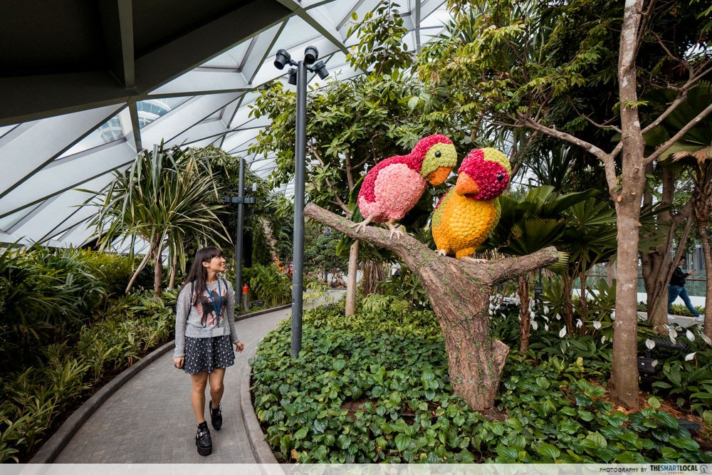 feng shui in singapore architecture - jewel changi
