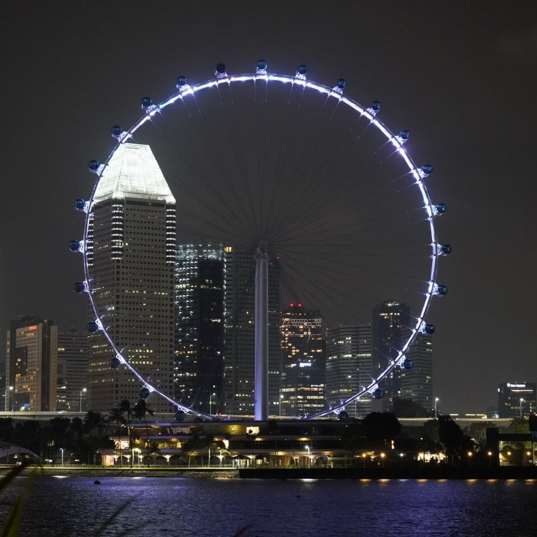 feng shui in singapore architecture - singapore flyer