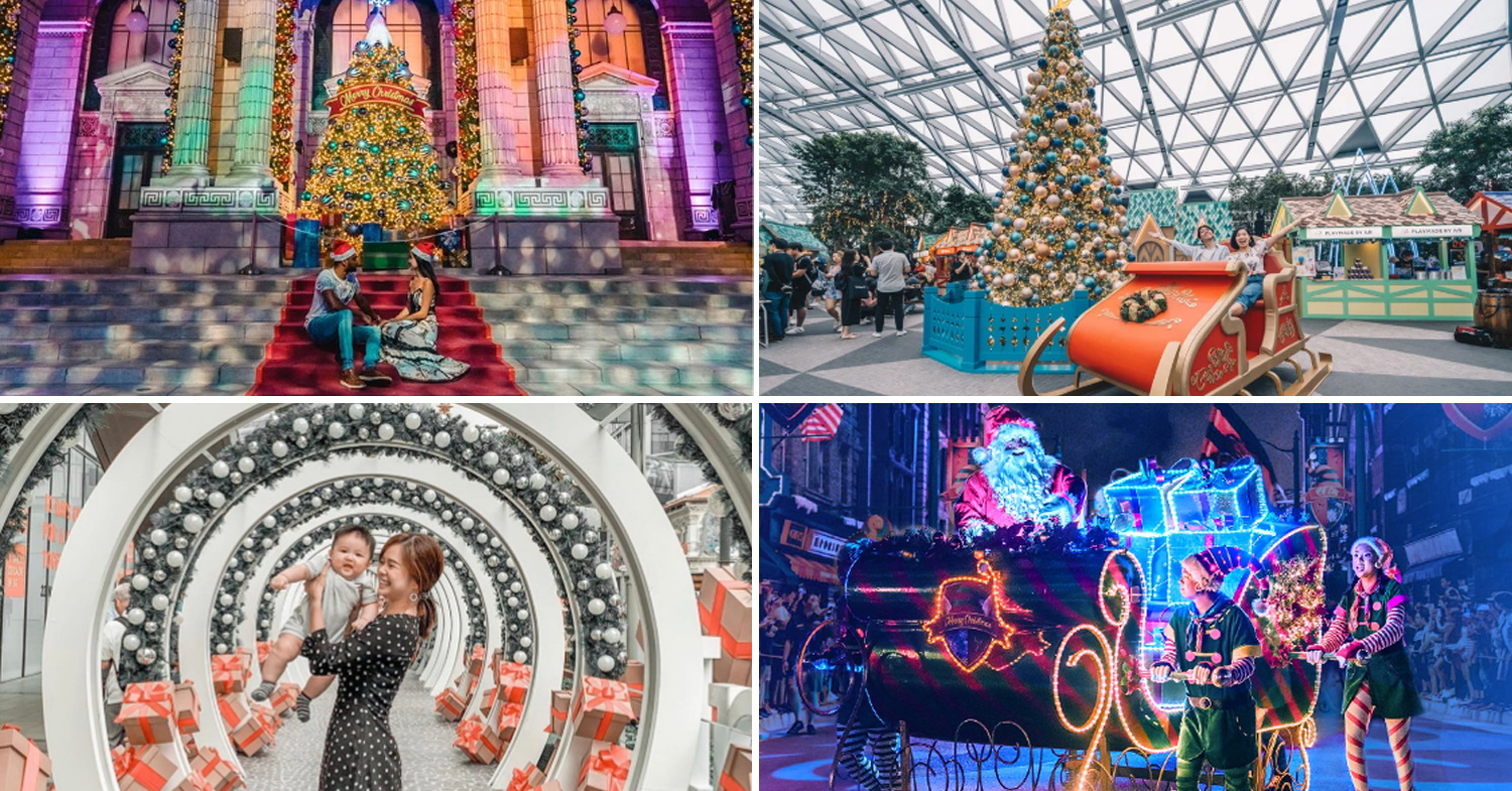 Christmas Light Up 2019 12 Spots In Singapore With Giant Trees Festive Carnivals Snowfall