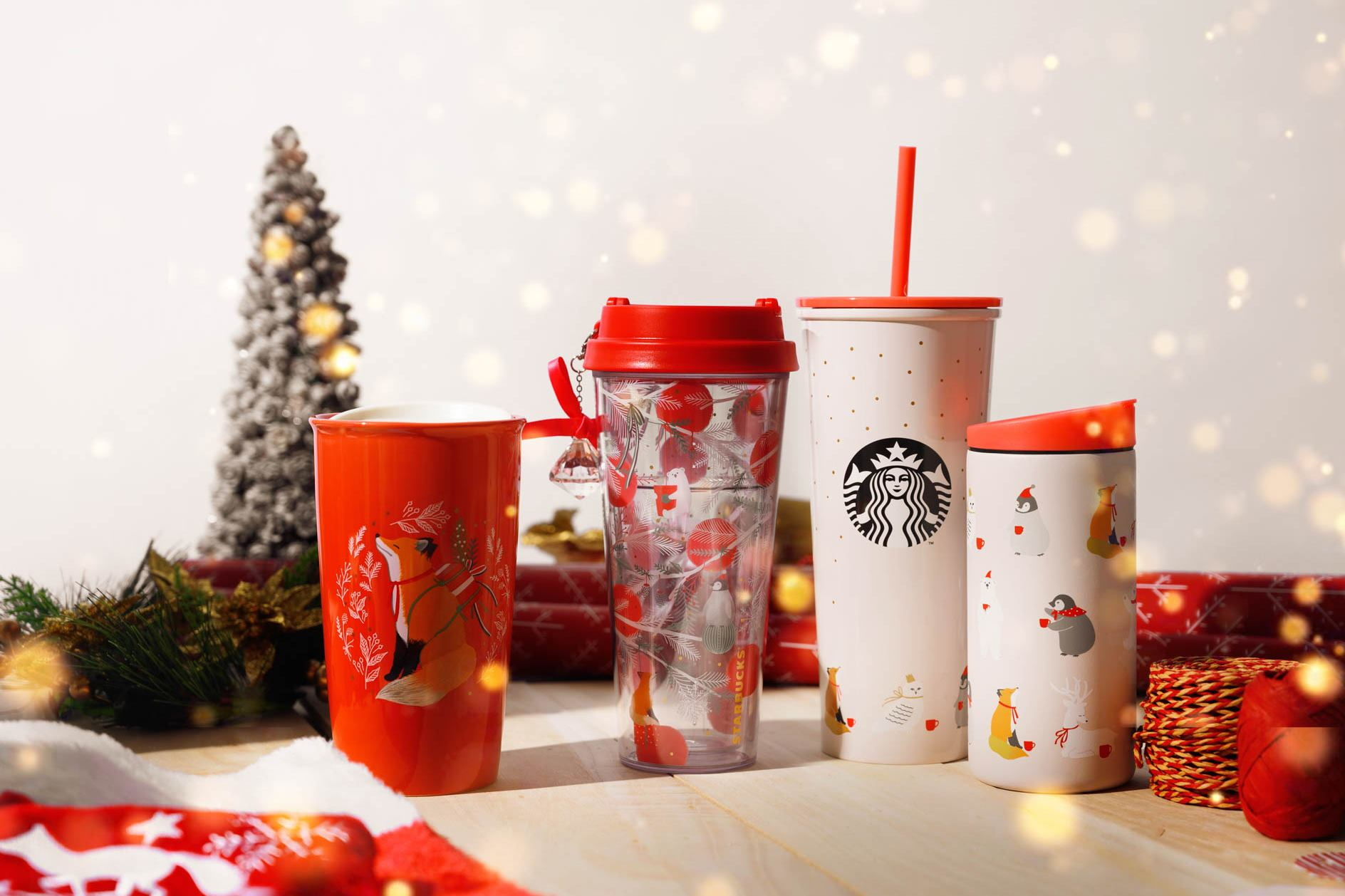 starbucks christmas merch