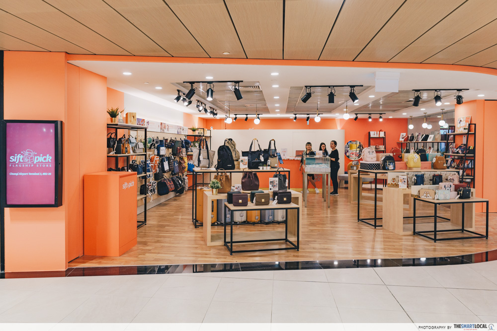 Sift & Pick Flagship Store at T3