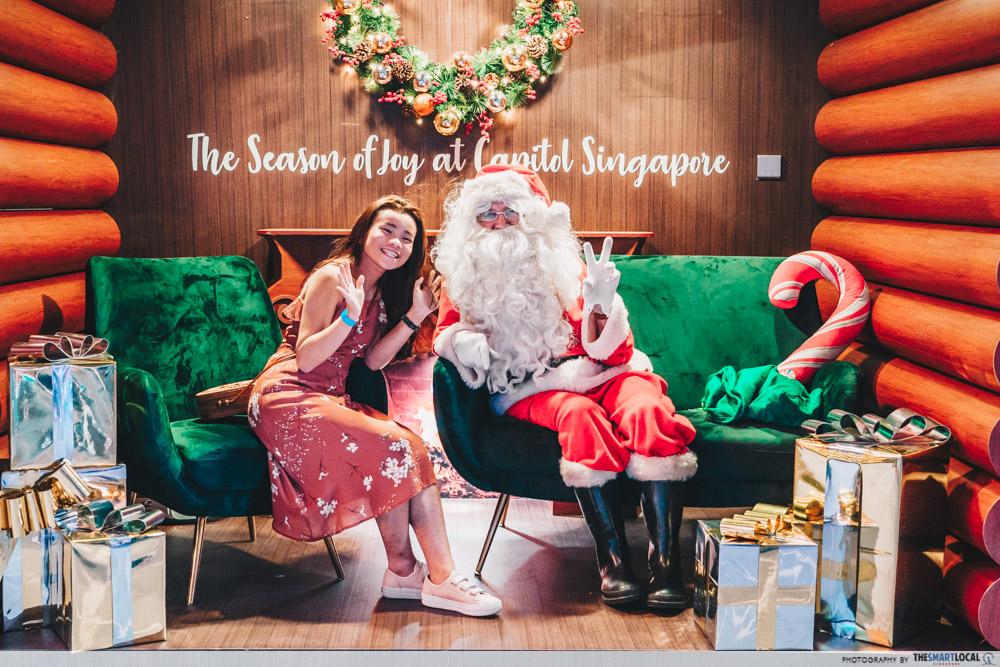 santa claus singapore