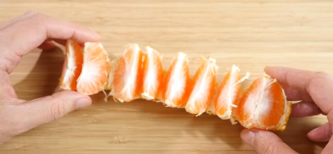 kitchen peeling hacks orange