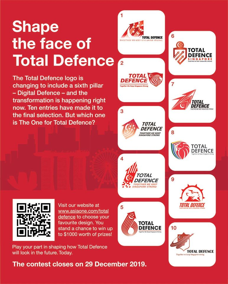 total defence logo competition