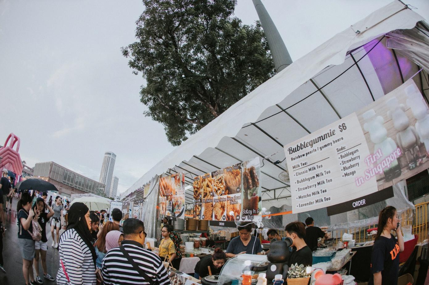 food stalls star island