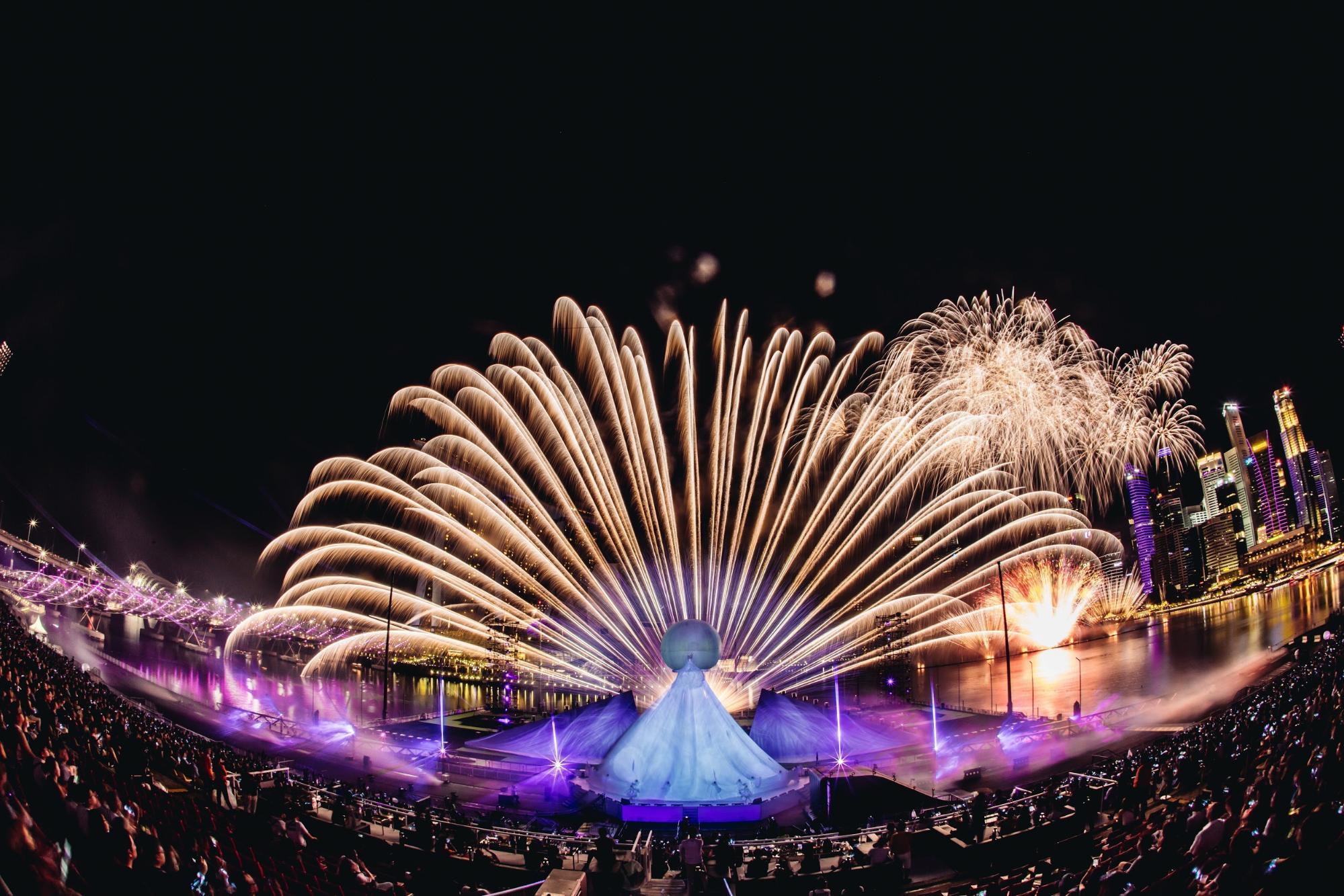 fireworks star island
