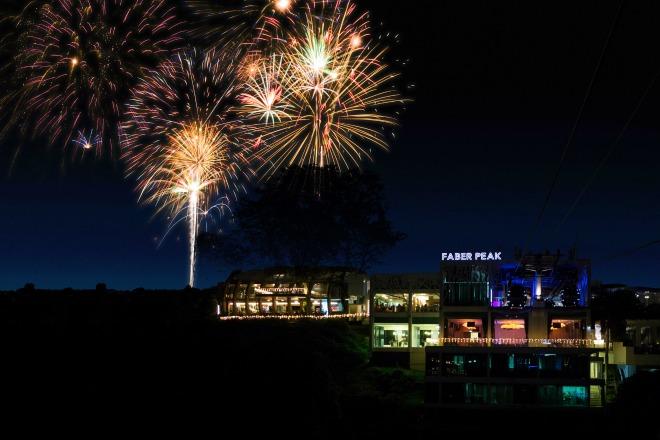 best fireworks viewing spots in singapore - faber peak