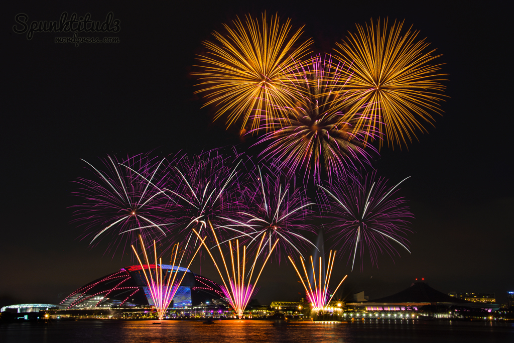 best fireworks viewing spots in singapore - singapore sports hub