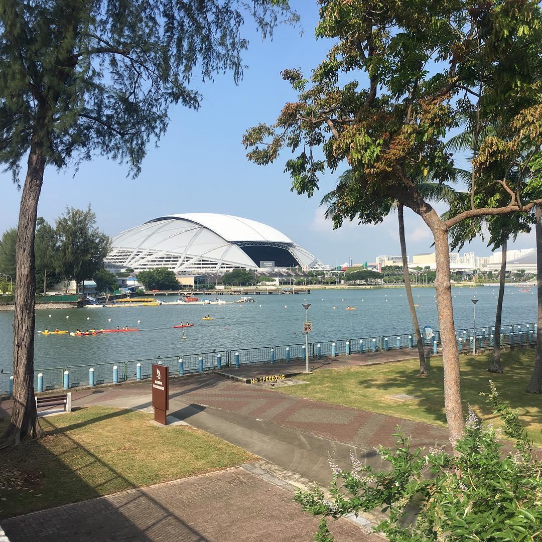 best fireworks viewing spots in singapore - singapore sports hub and tanjong rhu promenade