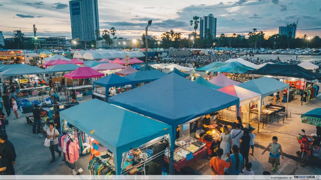 long weekend guide 2020 - hari raya puasa owl market in bangkok