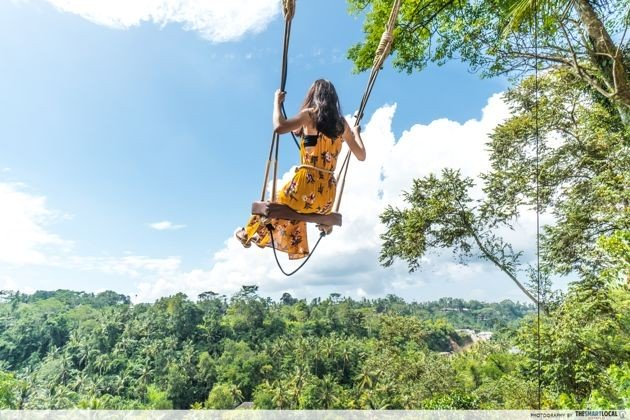 long weekend guide 2020 - chinese new year bali swing