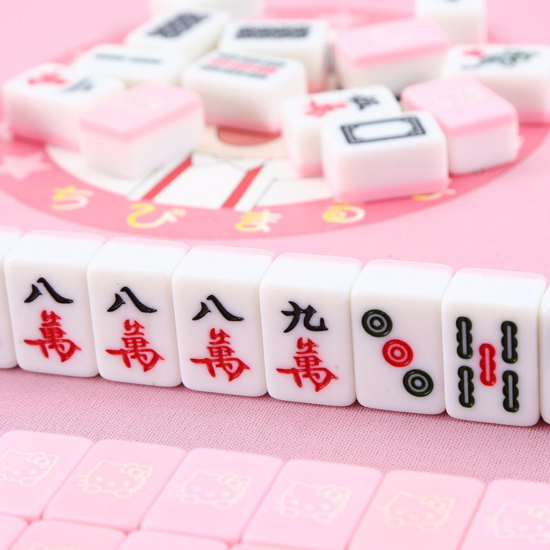 hello kitty mahjong tiles