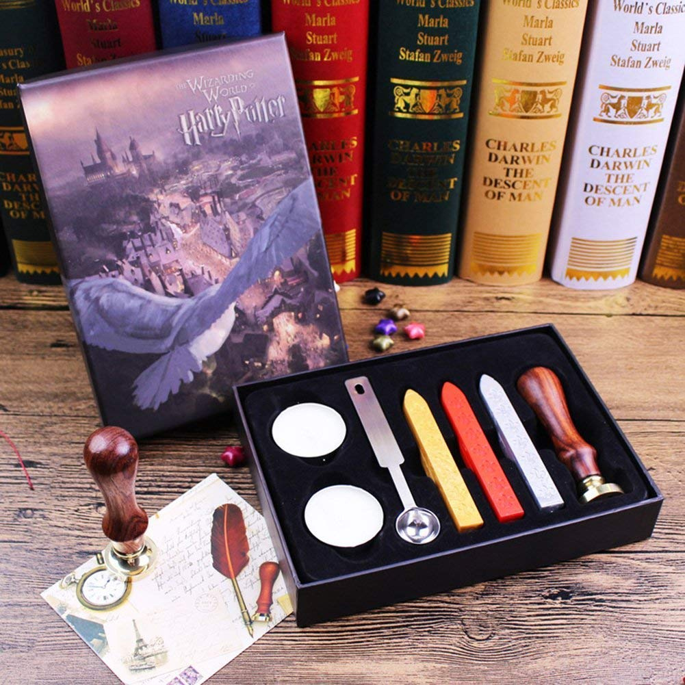 harry potter wax seal set