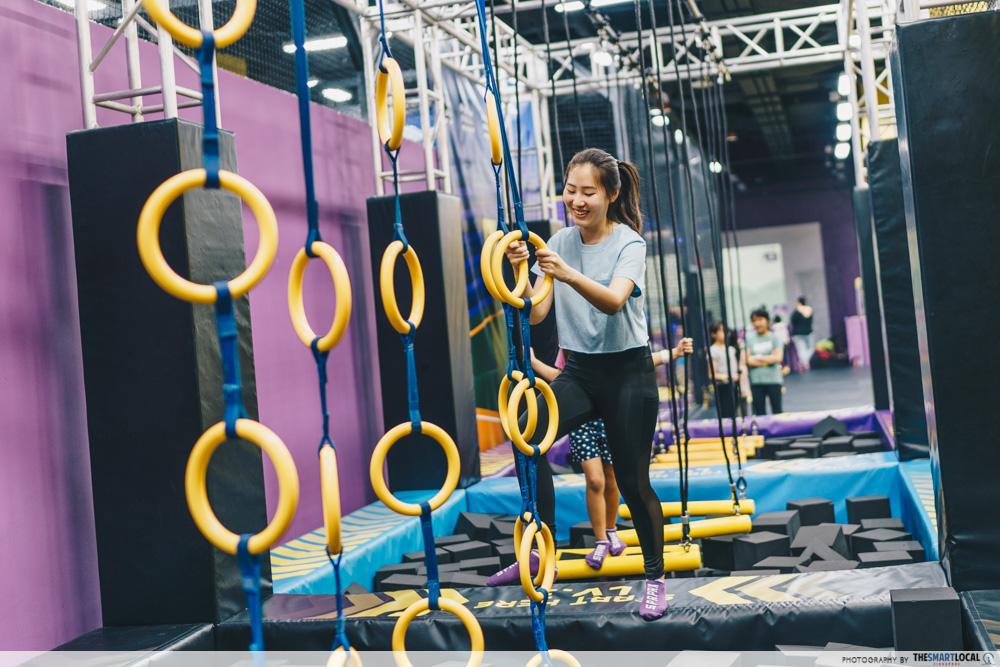 superpark singapore ninja course