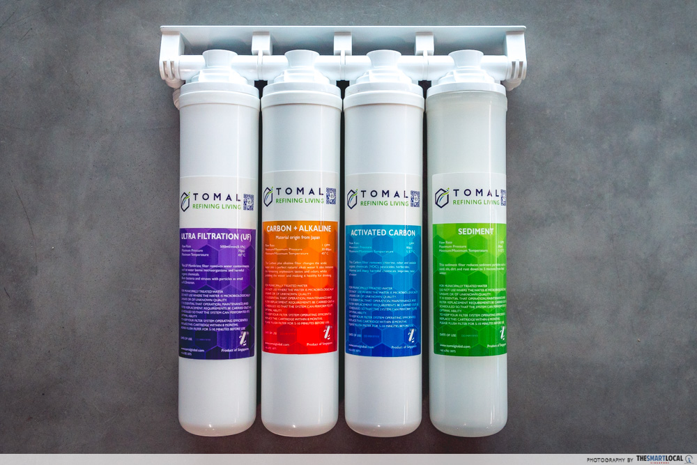 tomal freshdew water dispenser - bullet filters