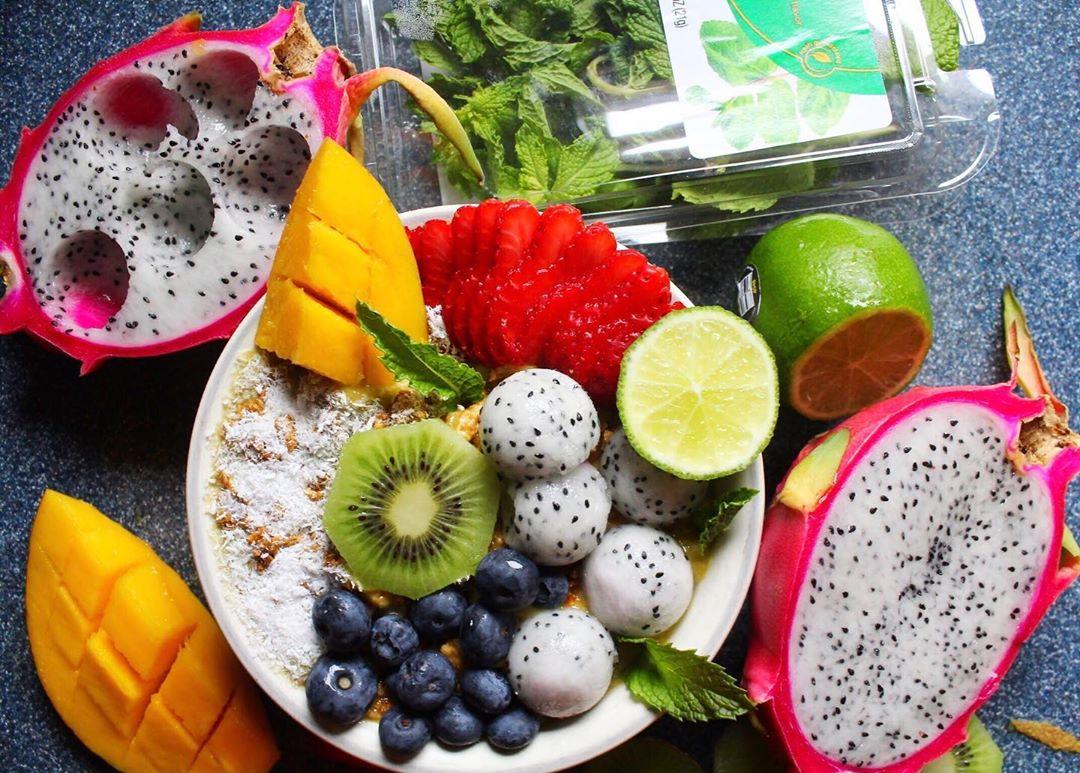 tricks drink water fruits