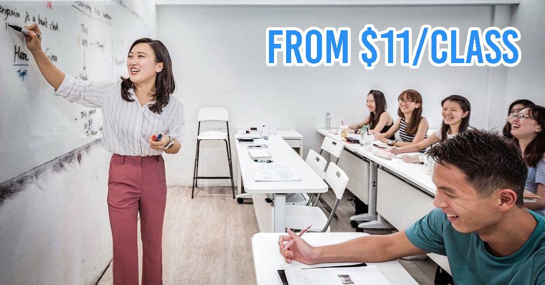 cheap korean classes singapore