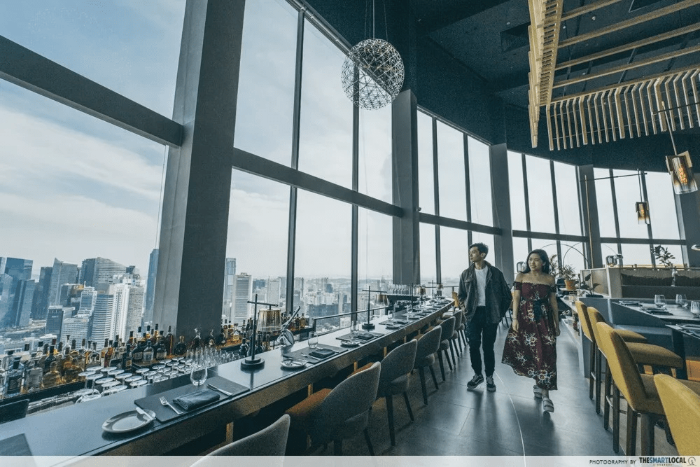 70th floor of Swissotel The Stamford