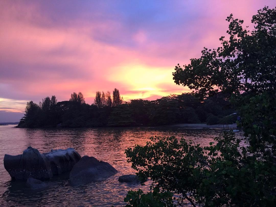 sunrise pulau ubin