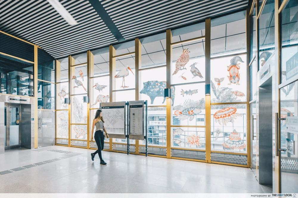 Canberra MRT station Singapore