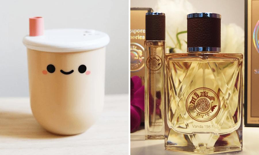 Orchid Perfume Singapore Bubble Tea Lamp