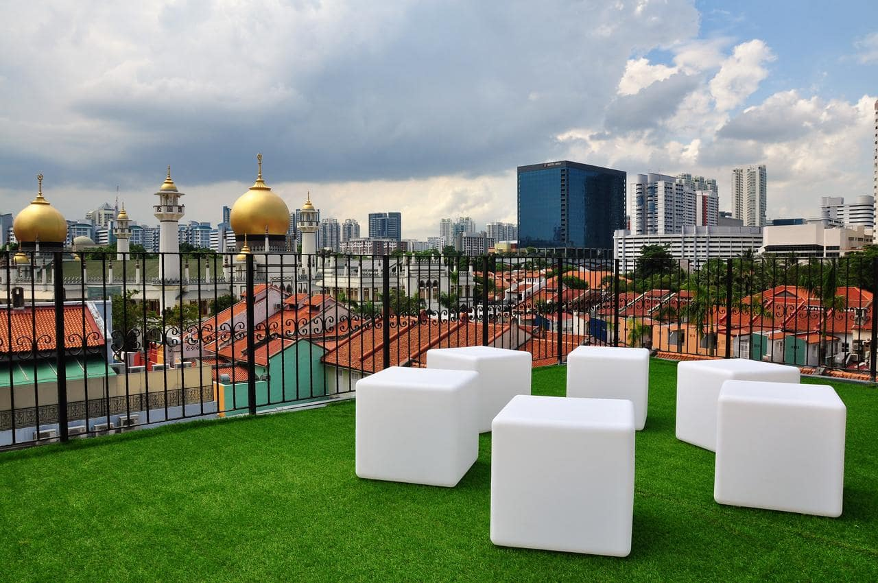 Beary Best Kampong Glam Singapore Outdoor Terrace
