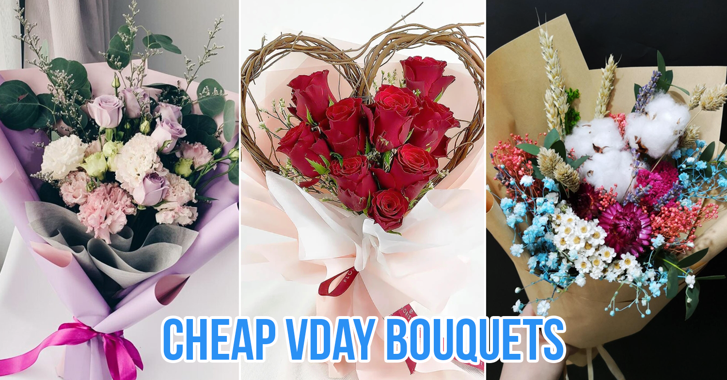 Cheap vday bouquets