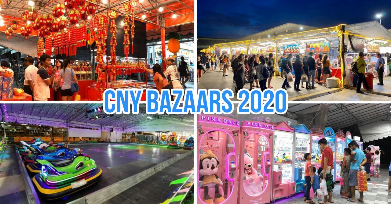 CNY bazaars 2020 Singapore