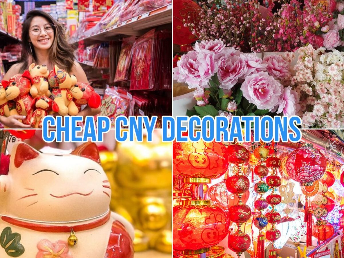 9 Cny Decoration Stores In Singapore To Give Your Home Extra Huat