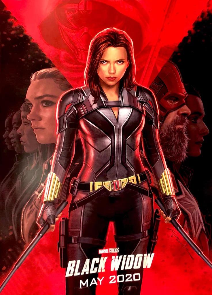 Black Widow movie 2020 Singapore