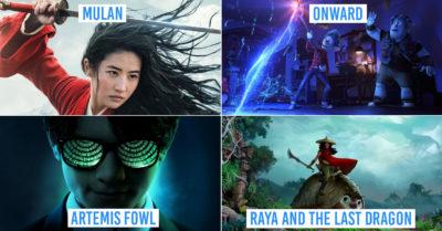 New Disney movies Singapore 2020