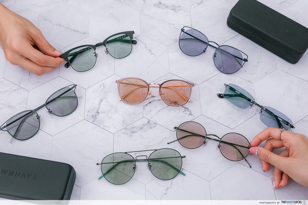 OWNDAYS' Transitions lenses