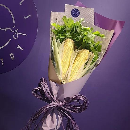Corn bouquet Petals Artistry