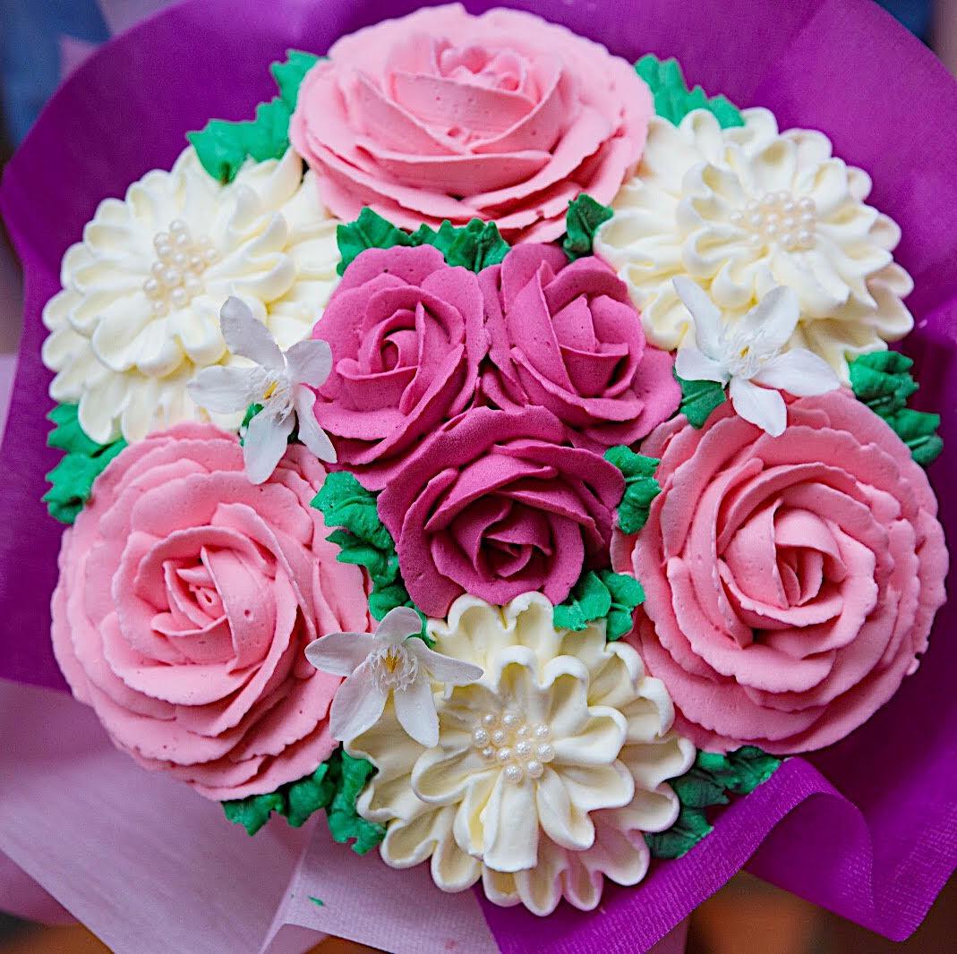 Cupcake bouquet Creme Maison Bakery
