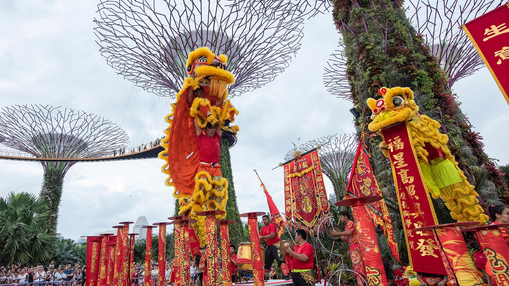 Spring Surprise Gardens by the Bay 2020