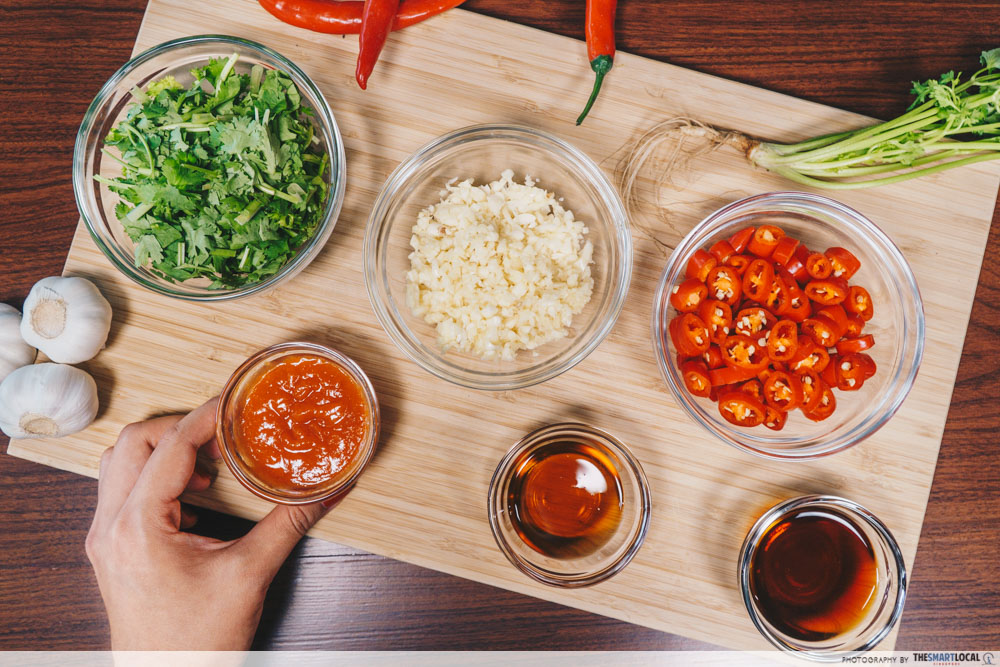 Steamboat Tips Giant CNY Promotions Condiment