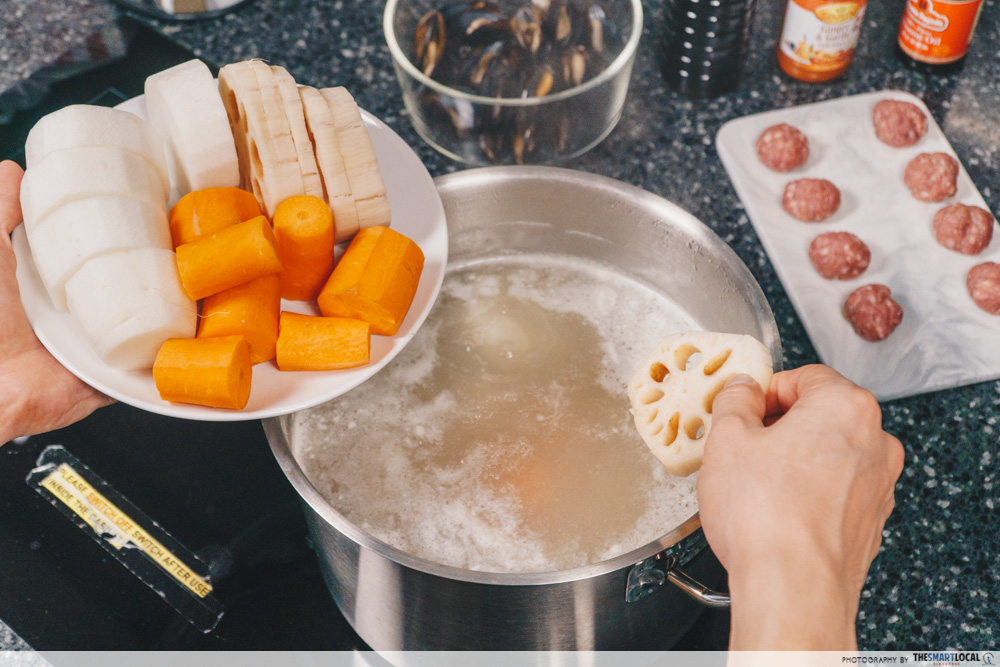 Steamboat Tips Giant CNY Promotions Soup Enhancers