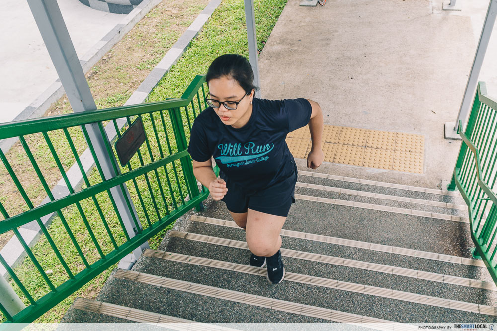 HPB exercise stair climbing